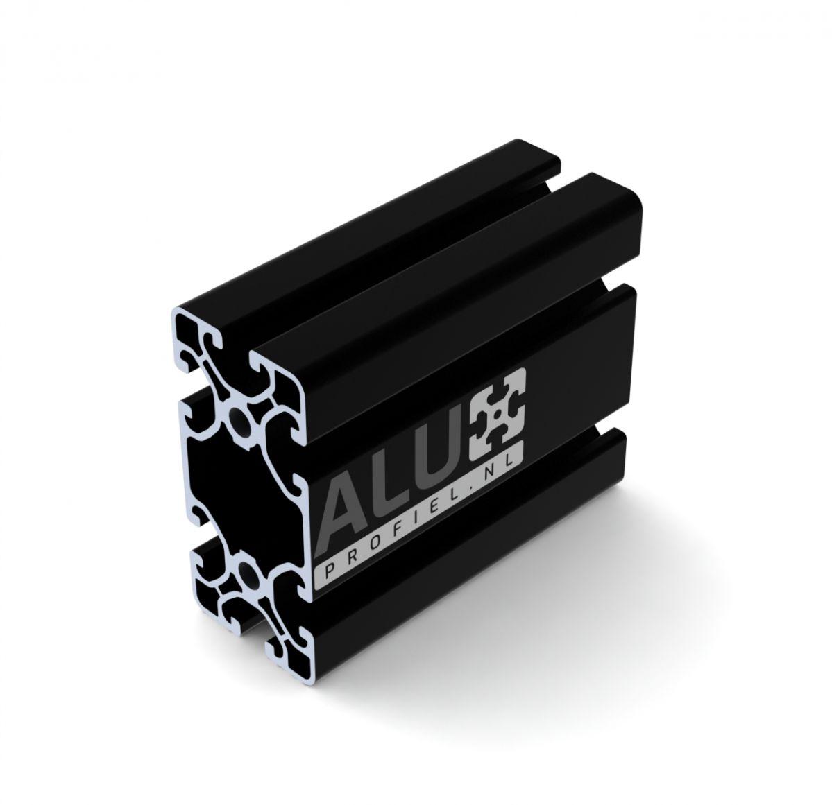 aluminium construction profile black 40x80