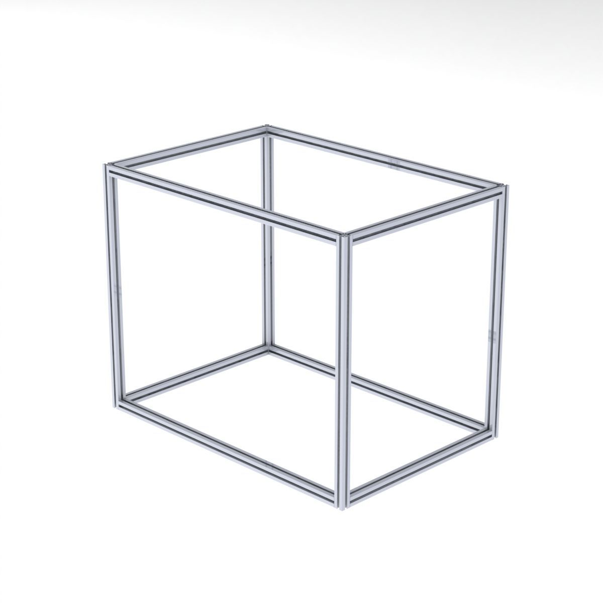 cube out of 3030 profiles