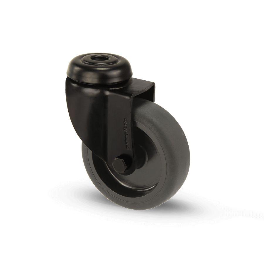 swivel castor wheel 50mm black