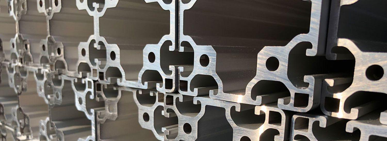 Aluminium T-slot profiles